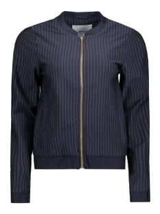 onlpenny stripe bomber jacket 15132050 only blazer night sky