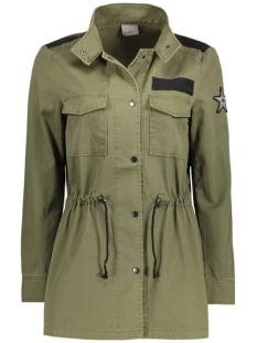 Vero Moda Jas VMCLARA ARMY L/S JACKET NFS 10177127 Ivy Green