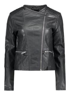jdyanika faux leather biker jacket 15124586 jacqueline de yong jas black