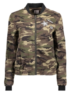 Vero Moda Jas VMCAMOUGE L/S PATCH BOMBER NFS 10177126 Ivy Green