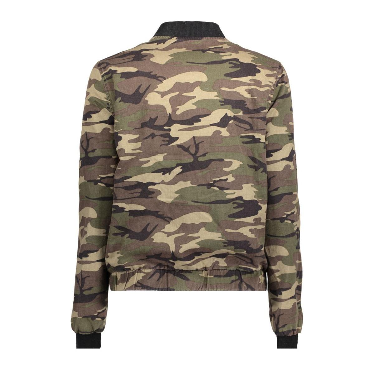 vmcamouge l/s patch bomber nfs 10177126 vero moda jas ivy green