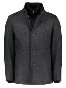 JCOJOE WOOL JACKET 12109225 Grey Melange
