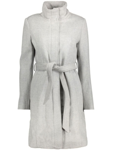 Vila Jas VILEAM COAT 14036101 Light Grey Melange
