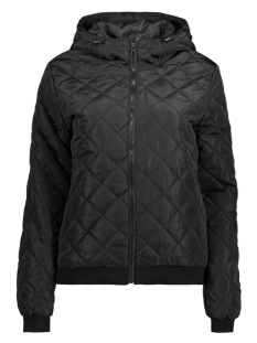 JDYOAK QUILTED NYLON JACKET OTW 15124582 Black