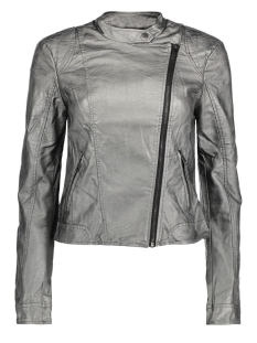 VMMILEY METALLIC SHORT PU JACKET DN 10164635 Pewter