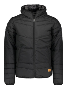 Jack & Jones Jas JORBOMB PUFFER JACKET CAMP YO 12115308 Black/Slim