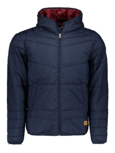 Jack & Jones Jas JORBOMB PUFFER JACKET CAMP YO 12115308 Navy Blazer