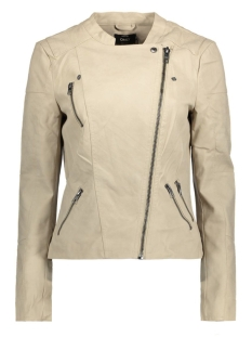 onlAVA FAUX LEATHER BIKER OTW NOOS 15102997 Pure Cashmere