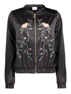 Vila Jas VICENTRI EMBROIDERY JACKET 14040056 Black