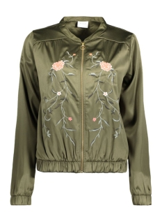 Vila Jas VICENTRI EMBROIDERY JACKET 14040056 Ivy Green
