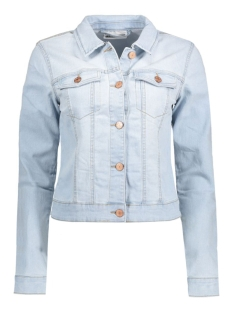 Noisy may Jas NMDEBRA LS DENIM JACKET NOOS 10126345 Light Blue Denim