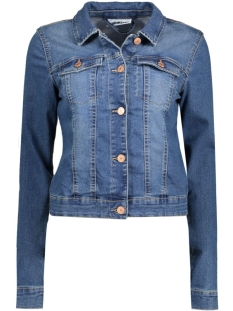 Noisy may Jas NMDEBRA LS DENIM JACKET NOOS 10126345 Medium blue denim