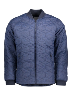 Jack & Jones Jas JCOHEXAGON PUFFER 12117975 Sky captain