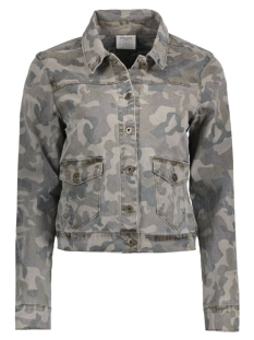 VMMORA LS DENIM JACKET 10172408 Ivy Green/Camouflage