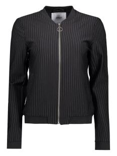 Only Vest onlPOPTRASH PINSTRIPE BOMBER JACKET 15133082 Black