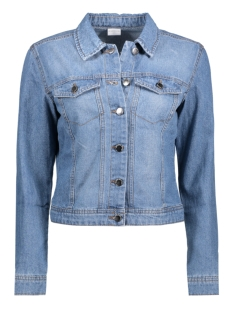 Jacqueline de Yong Jas JDYASHLEY DENIM JACKET DNM 15129781 Light Blue Denim