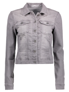 onlWESTA GREY DENIM JACKET PIM12114 15133376 Grey Denim