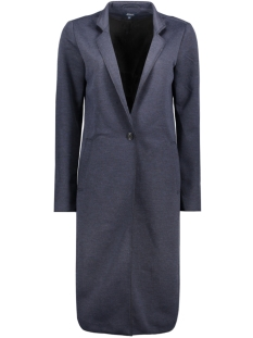 Only Blazer onlSUE LONG BONDED COAT OTW 15129745 Mood Indigo