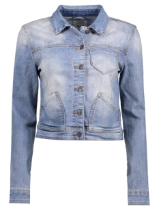Object Jas OBJALIZIA DENIM JACKET 90 23024077 Light Blue Denim
