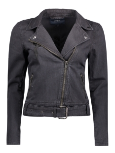 Only Jas onlMADISON BLACK DNM BIKER JACKET 15134636 Black Denim