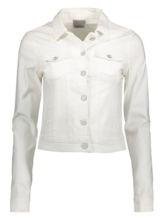 Vero Moda Jas VMHOT SOYA LS DENIM COLOR JACKET 10175785 Bright White
