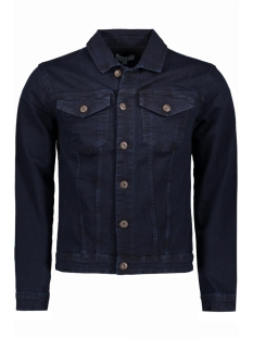 Only & Sons Jas onsCHRIS CAMP D. BLUE DENIM JACKET 22006131 Dark Blue Denim