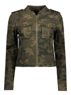 Only Jas onlANWAR CAMO PRINT JACKET 15140696 Black/Army Print