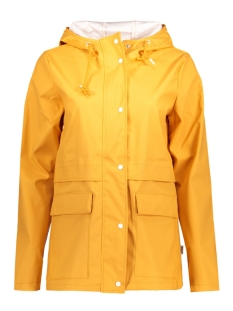 Only Jas onlNEW TRAIN SHORT RAINCOAT OTW 15129799 Yolk Yellow/W. White
