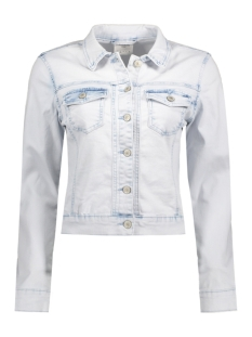 Vero Moda Jas VMMORA LS DENIM BLEACH JACKET 10176240 Snow White