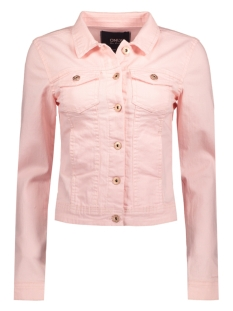 Only Jas onlWESTA LS COLOUR DNM JACKET PIM 15134233 Rose Quartz