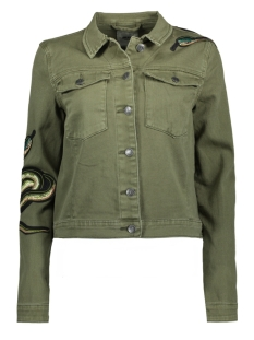 Object Jas OBJSHAKE L/S JACKET 91 23024433 Ivy Green