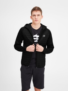 jjtmulti quilted jacket noos 12110590 jack & jones jas black