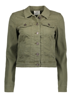 Vero Moda Jas VMNEW SOYA COLOR DENIM JACKET 10176264 Ivy Green