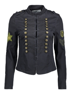 Only Blazer onlARIZONA DETAIL MILITARY JACKET 15135270 Black