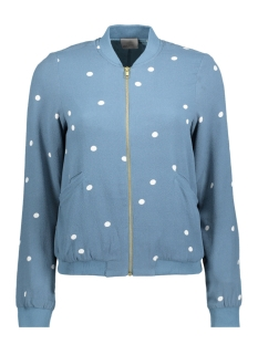 VMBIG DOT L/S BOMBER JACKET 10181277 Bluestone/Big Dot PR