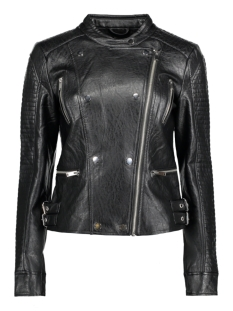 onlNETTE FAUX LEATHER BIKER JACKET 15139414 Black