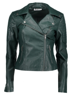 Noisy may Jas NMREBEL L/S PU JACKET - NOOS 27000741 Green Gables