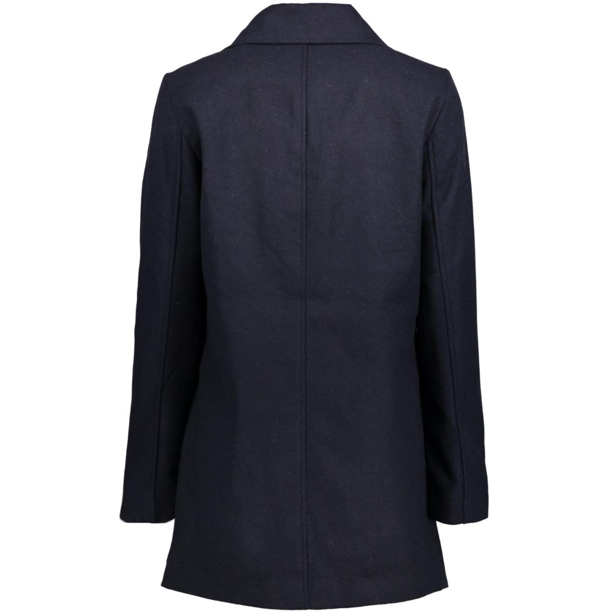 nmminna l/s coat - 4b 10179084 noisy may jas navy blazer