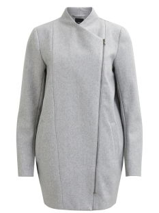 Object Jas OBJNORA COAT NOOS 23024671 Light Grey Melange