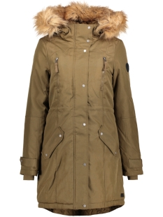 Vero Moda Jas VMTRACK EXPEDITION 3/4 PARKA 10179246 Dark Olive