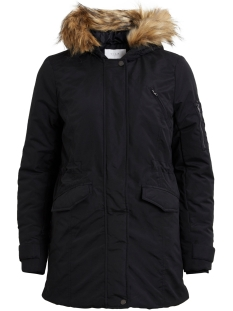Vila Jas VIMUST LONG PARKA JACKET PB 14042929 Black