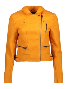 Only Jas onlRUSH FAUX LEATHER BIKER OTW 15148144 Golden Glow