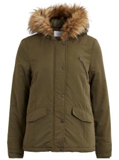 vimust short parka jacket tb 14042928 vila jas ivy green