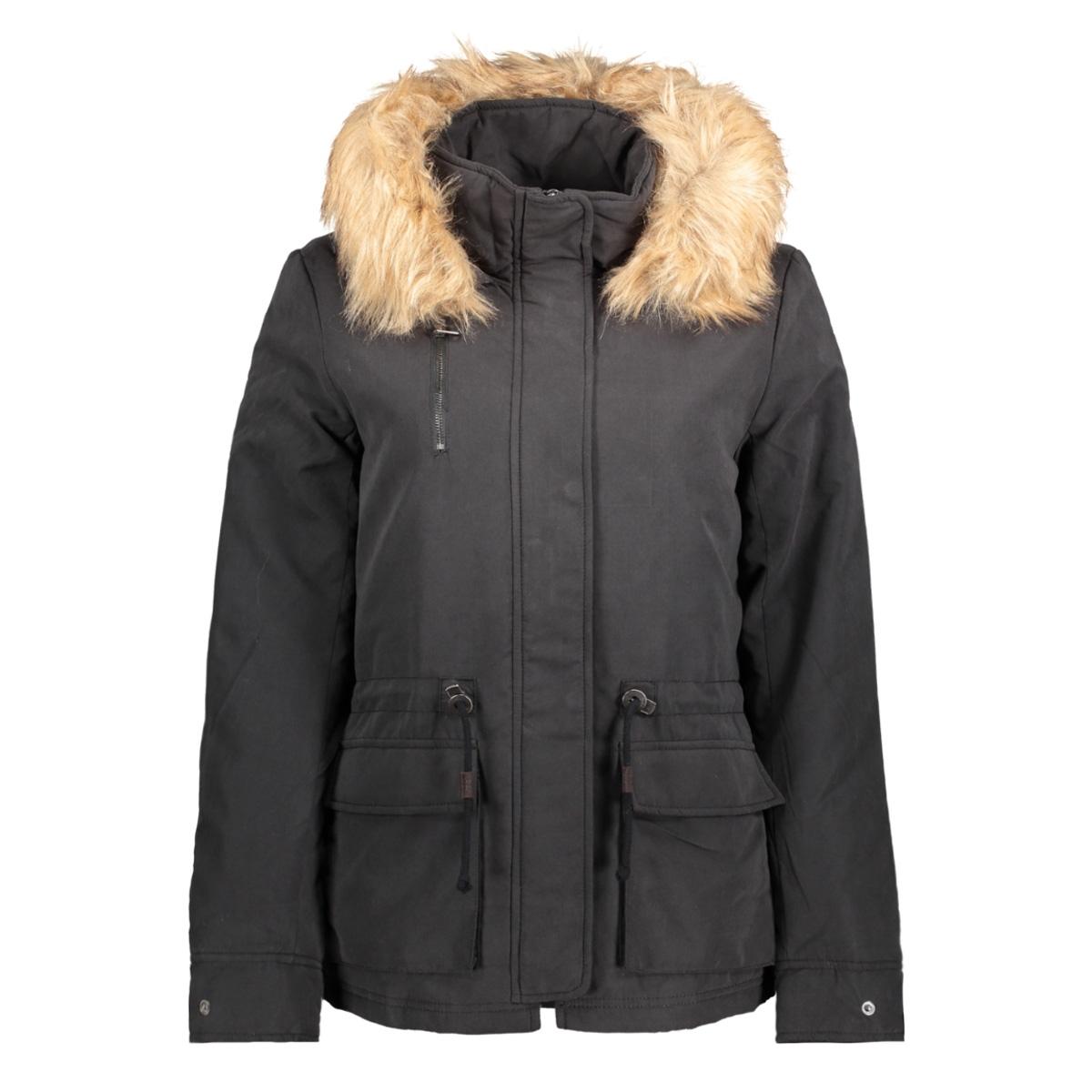 onlstarlight aw fur parka cc otw 15136160 only jas black