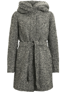 Vila Jas VICAMA NEW WOOL COAT-NOOS 14043633 Light Grey Melange