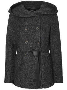 Vero Moda Jas VMMUNICH LOOP  WOOL JACKET 10182198 Dark Grey Melange