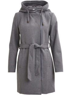 Object Jas OBJJOLIE COAT NOOS 23023122 Light Grey Melange