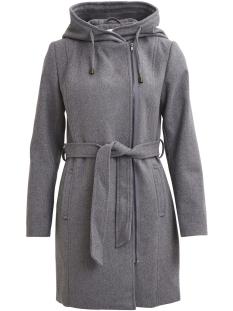 objjolie coat noos 23023122 object jas light grey melange