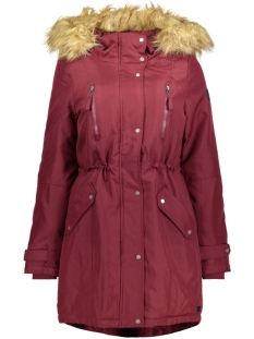Vero Moda Jas VMTRACK EXPEDITION 3/4 PARKA 10179246 Zinfandel