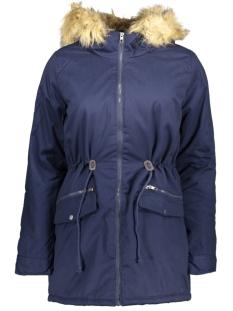 jdymandy hooded parka jacket otw 15140347 jacqueline de yong jas black iris